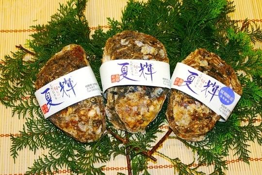 夏輝は鳥取産の岩牡蠣です